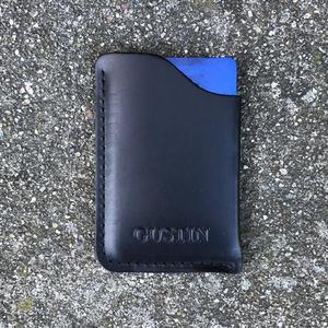 Corner Wallet - Horween Black Chromexcel