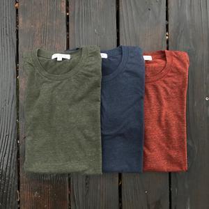USA Heather T-Shirt 3PK (Pine, Navy, Oxblood)