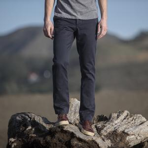 #159 Navy Wool Blend Chinos