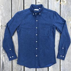 #564 CobaltXBlack Flannel