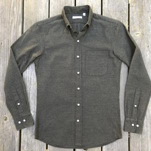 #565 OliveXBlack Flannel