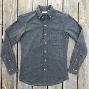 #566 GreyXBlack Flannel