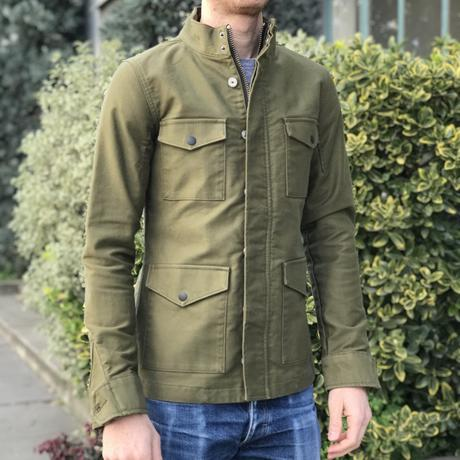 f8be6c7f295 Field Jacket - Olive Military Corduroy