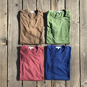 USA Heather Long Sleeve T-Shirt - Elements 4PK