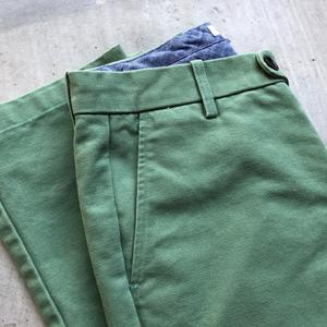#173 Spring Green Canvas Chinos