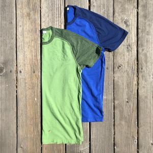 Raglan T-Shirt 2PK (Fern Green, Royal Blue)