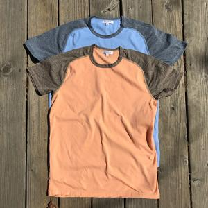 Raglan T-Shirt 2PK (Peach, Sky Blue)