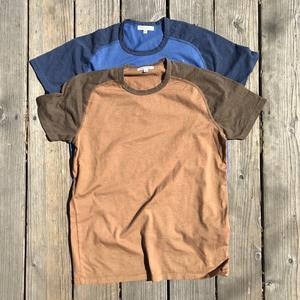 Raglan T-Shirt 2PK (Tierra, Faded Blue)