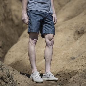 #17 Cone Indigo Chambray Chino Shorts