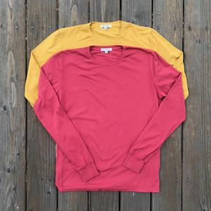 USA Long Sleeve T-Shirt 2PK - Crimson, Gold