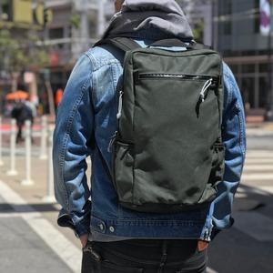 Commuter Backpack - Waxed Forest Canvas