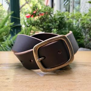 Brown Horween Latigo Belt