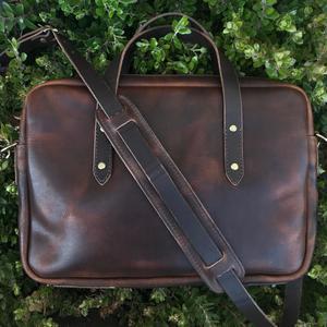 Horween Briefcase - Nut Brown Dublin