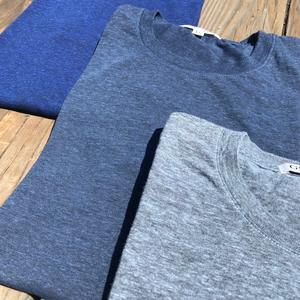 USA Heather Triple Blue T-Shirt 3PK