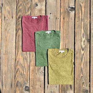 USA Heather T-Shirt 3PK (Crimson, Fern Green, Gold)
