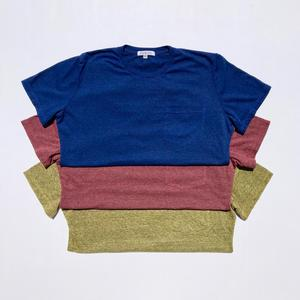 USA Heather Pocket T-Shirt - 3PK (Royal Blue, Crimson, Gold)