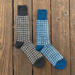 Japan Broken Line Sock 2PK