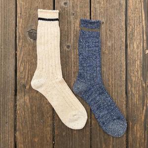 Japan Nep Rib Sock 2PK