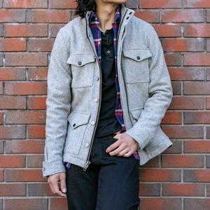 Melton Wool Field Jacket