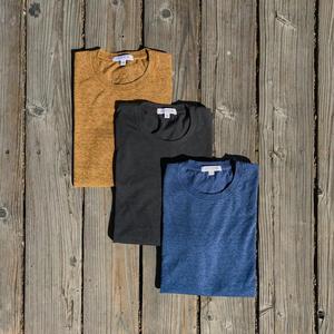 USA Heather T-Shirt 3PK (Bronze, Gunmetal, Faded Blue)