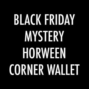 Black Friday Mystery Horween Corner Wallet