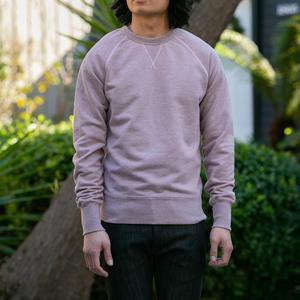USA Crewneck Sweatshirt - Heather Pink