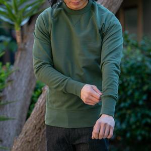 USA Crewneck Sweatshirt - Pine