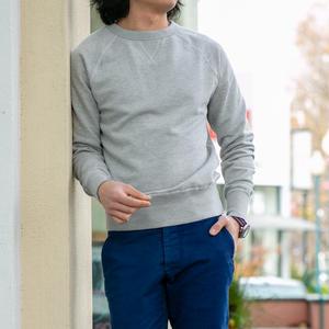 USA Crewneck Sweatshirt - Heather Grey