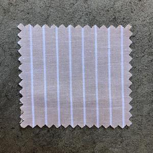 #638 Khaki White Stripe Oxford