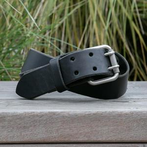 Double Prong Belt - Black