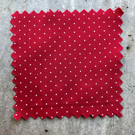 471abc6c4dbfd9 639 Red Polka Dot Poplin | Japanese Shirting