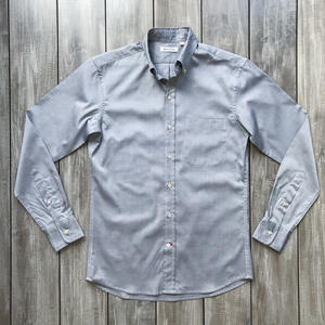 #656 Japan Charcoal Pinpoint Oxford
