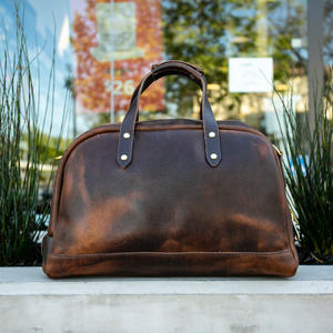 The Overnighter - Horween Nut Brown Dublin
