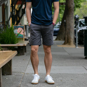American Chino Short - Charcoal