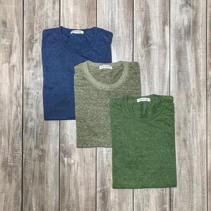 USA Heather T-Shirt 3PK (Faded Blue, Cypress, Citron)