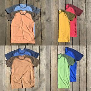Raglan T-Shirt 8PK