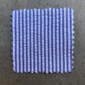 #669 Royal Stripe Seersucker