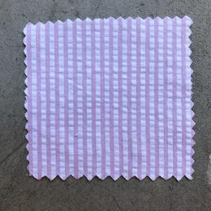 #670 Pink Stripe Seersucker