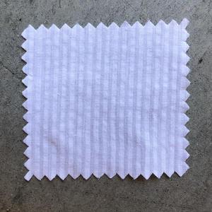 #671 White Stripe Seersucker