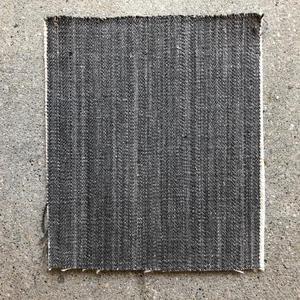 #432 Charcoal Linen Selvedge