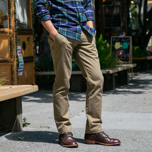 #198 American Brushed Chinos - Khaki