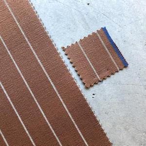 #439 Selvedge Stripe Canvas - Wood
