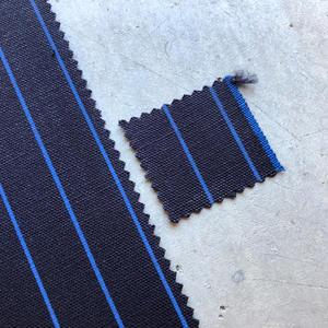 #441 Selvedge Stripe Canvas - Navy