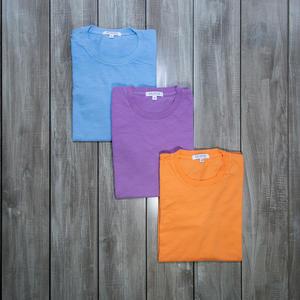 Slub Cotton T-Shirt 3PK (Sky, Lavender, Tangerine)