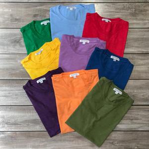 Slub Cotton T-Shirt 9PK