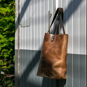 The Horween Tote - Chromexcel Natural