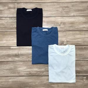 Indigo Dyed T-Shirt 3 Pack - (Dark, Vintage, Sun Fade)
