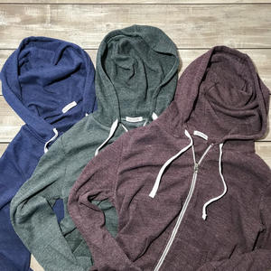 Waffle Zip Hoodie 3 Pack (Navy, Forest, Oxblood)