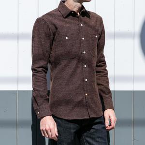 #630 OxbloodXBlack Vintage Wool