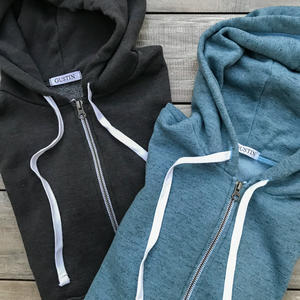 Twisted Yarn Fleece Zip Hoodie 2 Pack (Graphite, Sky)